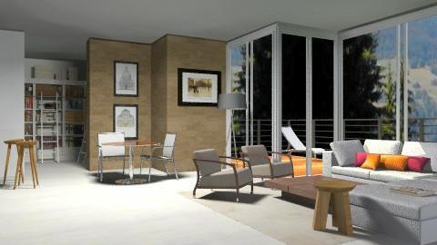 CampAlt - Rustic - Living room  - by sahfs