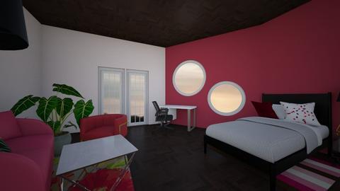 pomegranate - Bedroom  - by redvelvetcupcake