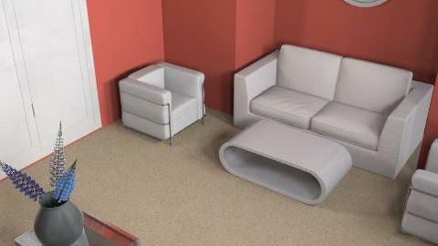 White Room - Minimal - Living room  - by designerrich123