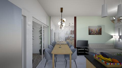 1st floor 2nd look - Living room  - by markanthony