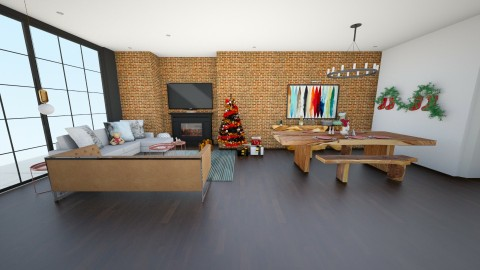 Xmas is coming - Living room - by lvh93_