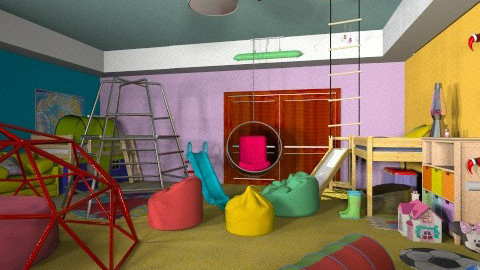 Climbing Child - Modern - Kids room  - by Goonerette89
