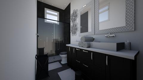 House Plan 1D - by Kayla Roze