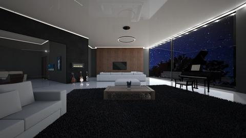 9315 Nightingale Dr - Modern - Bedroom  - by sfurkan