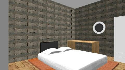 Quarto Terraco - Vintage - Bedroom  - by diegmedaber