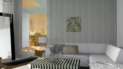 crystal - Glamour - Living room  - by sahfs