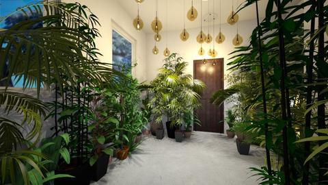 Urban Jungle Hallway - by bleeding star