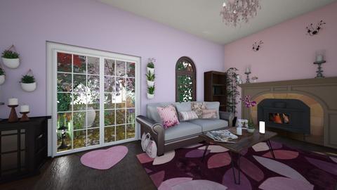 room1 - Living room  - by meiruvt