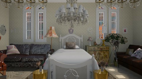 Vintage - Vintage - Bedroom  - by Sherrycress