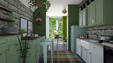 Kitchen Conservatory - Kitchen  - by seth96