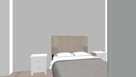 master bedroom - Bedroom - by Olgita888