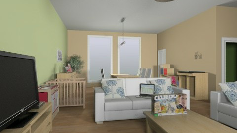 hby - Living room - by margot98