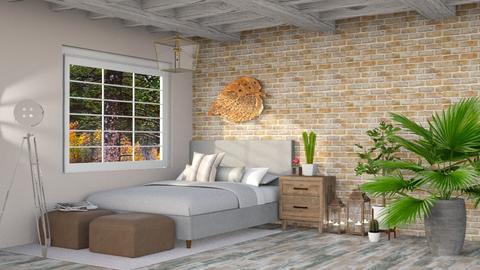Forrest bedroom - Bedroom - by LunaBradley