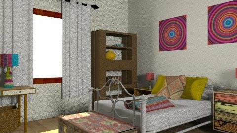 le niñe - Rustic - Bedroom  - by alepa
