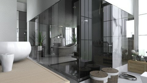 FlatOak - Modern - Bathroom  - by StienAerts
