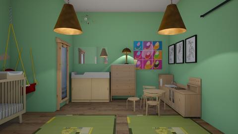 Olivias Nursery - Kids room  - by Oliviacowherd