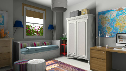 V Teen_CWIN - Vintage - Kids room  - by TV Renders