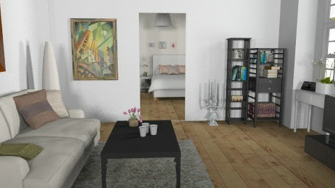 Minimal - Minimal - Living room  - by monikica