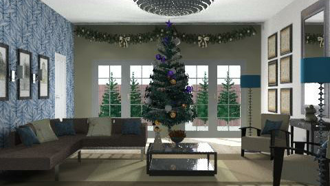 gullandchristmas - Glamour - Living room  - by Gulland