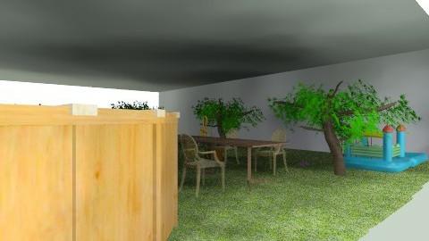 maison de famille - Glamour - Garden  - by mila vrankenne