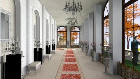 Hallway with candles - Classic - by vovisanija