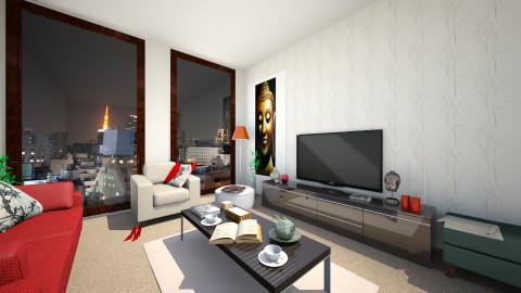 lol - Living room - by Kaylinha