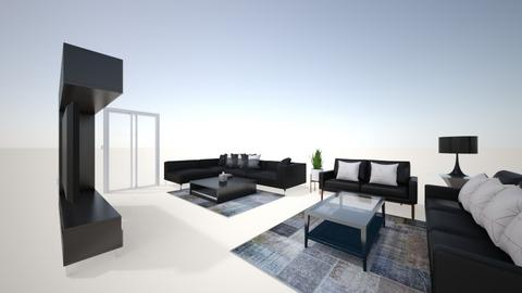 ruang tamu - Modern - Living room  - by amrshlby