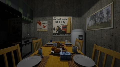 Bunker 2021 3 - Living room  - by SammyJPili