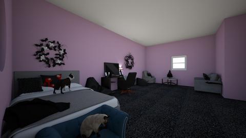 new room 2 - Vintage - by please get help