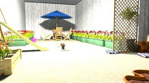 garden - Minimal - Garden  - by akanksha