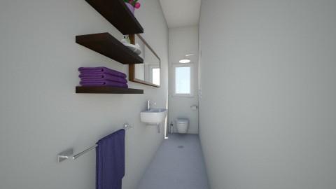 Bathroom downstairs - Minimal - Bathroom  - by Clapar