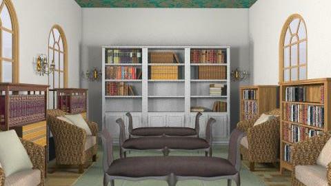 Bibliotheque - Classic - Office  - by ioanavladut7