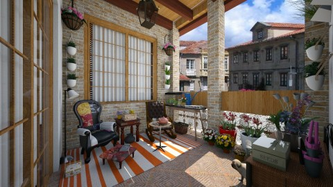 grandparents balcony - Garden - by Conchy