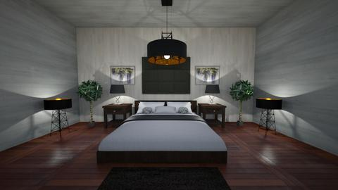 Simple Living - Minimal - Bedroom  - by Angelic_Cuteness136