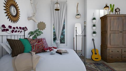 Bohemian - Classic - Bedroom  - by Zephyrs
