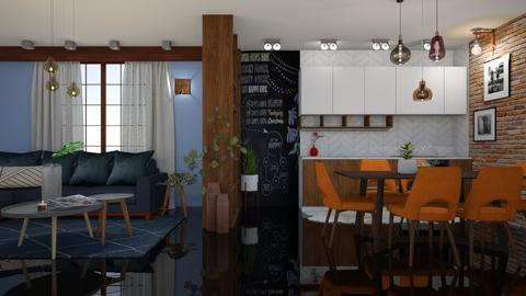 my dream place 1 - Living room - by snjeskasmjeska