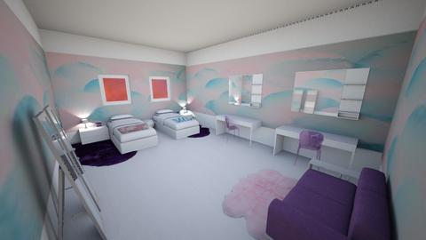 Geometric Bedroom - Bedroom  - by Alexa Design