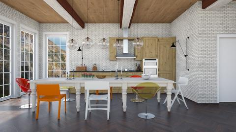 Modern Eclectic Country K - Modern - Kitchen  - by 3rdfloor
