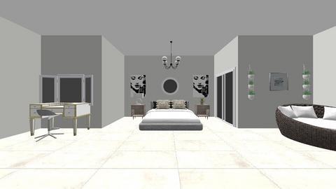 Sister style swap  - Bedroom  - by RosieDraws