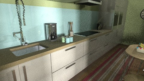 flat 7 - Glamour - Kitchen  - by sally89