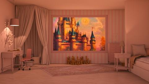 Fairytale bedroom Contest - Kids room  - by iope