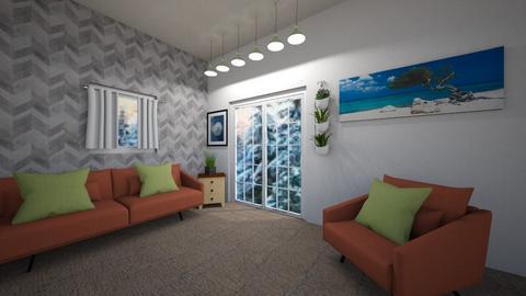 Living6 - Modern - Living room  - by Amelia i Szymon