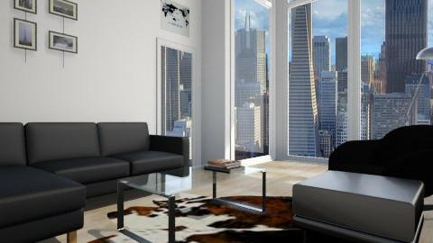 San Francisco - Living room - by sydneygaddy