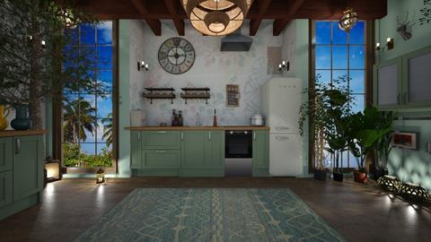 Bohemian Kitchen - Kitchen  - by PRINZESSINBLUME