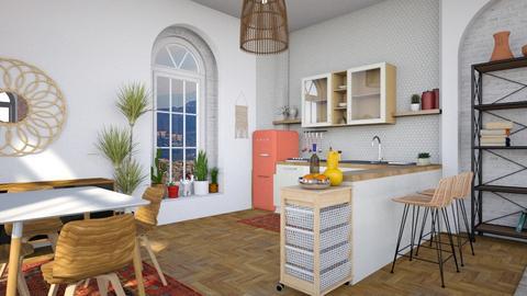 Bohemian Kitchen - Eclectic - Kitchen  - by smunro7