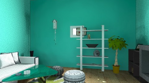 1 - Retro - Living room  - by federicojonaspalacios