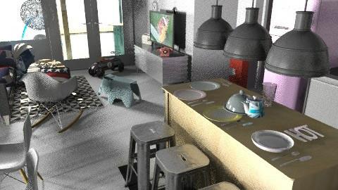 banjavciceva kdbblstaro - Eclectic - Kitchen  - by tatjana_novak