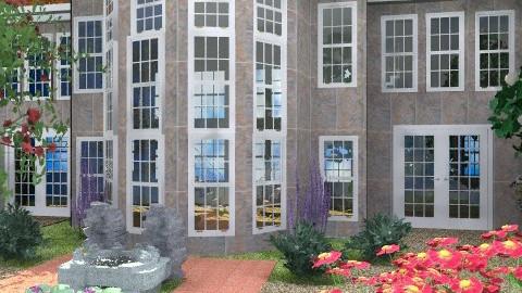 Building - Classic - Garden  - by Bibiche