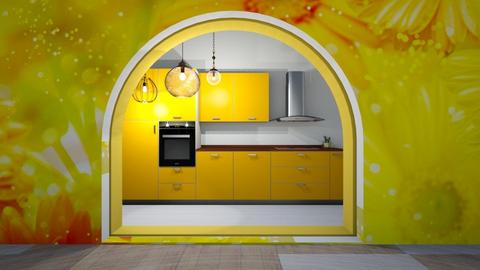 magically yellow - Kitchen  - by Wensday
