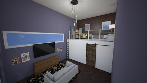 loft house - Living room  - by cowplant_4life